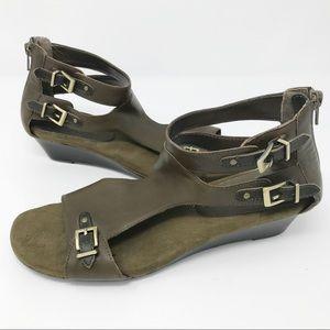 Aerosoles Yet Another Wedge Gladiator Sandals 9